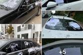 Chính quyền nói về việc hàng loạt ô tô ở Hà Nội bị dán giấy do đỗ xe tắc đường