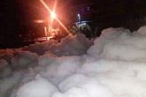 Lập đoàn kiểm tra hiện tượng 'tuyết' phủ trắng sau mưa ở Bình Dương