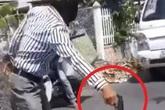 Bạc Liêu: Xác minh clip người đàn ông cầm súng chỉ trỏ sau va chạm giao thông