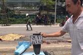Hà Nội: Va chạm với xe tải, hai mẹ con bán xôi bị tông tử vong tại chỗ