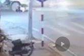 Hà Nội: Xe chở rác cán trọng thương nữ sinh sau vụ va chạm