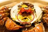 Ăn hải sản mấy chục năm ai nghĩ đơn giản PHẦN MÀU VÀNG trong con cua biển là GẠCH đều sai hết