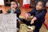 Thông tin mới nhất về hai bé bị bỏ rơi giữa trời mưa lạnh kèm lá thư nói bố mẹ đã chết