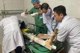 Nghệ An: Đứt cáp cầu thang nâng ở công trình xây dựng, nhiều người bị thương
