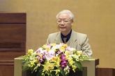 Tổng Bí thư, Chủ tịch nước Nguyễn Phú Trọng: Bầu cử ĐBQH khoá XV và đại biểu HĐND các cấp nhiệm kỳ 2021-2026 là hoạt động chính trị quan trọng