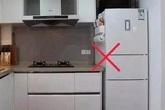 Theo quan niệm phong thủy, cuối năm mà vẫn đặt tủ lạnh ở chỗ này thì phải kê lại ngay