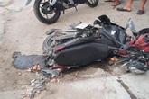 Tai nạn giao thông ở Biên Hòa, người và xe nằm la liệt