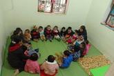 Thanh Hóa: Trường mầm non sụt lún nghiêm trọng, 200 trẻ phải đi học nhờ