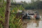 Khẩn trương tìm đại úy cảnh sát mất tích trên sông Hậu