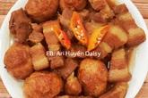 Thịt kho tàu thêm vài giọt này, thành phẩm trong veo, thơm phức, ăn đến đâu tan trong miệng đến đấy