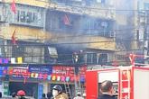 Hải Phòng: Giải cứu an toàn cháu bé 5 tuổi trong đám cháy tại nhà tập thể cũ