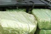 'Ôm' 6 bánh ma túy cố thủ trong chiếc Ford Escape