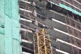 Gãy cần cẩu dự án khách sạn 4 sao, 1 công nhân tử vong