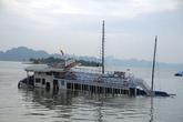 Quảng Ninh: Chìm tàu du lịch trên Vịnh Hạ Long