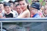 Thanh Hằng cưỡi Limousine đến casting Vietnam's Next Top Model