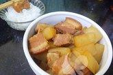 Thịt kho củ cải ấm lòng đầu đông