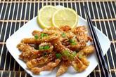 Chua ngọt thịt gà sốt chanh