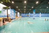 Thỏa sức bơi lội trong mùa đông với bể bơi bốn mùa 4000 m²