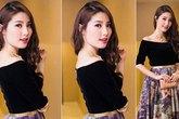 Kiều nữ Việt xinh lung linh với dáng váy xoè