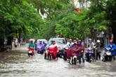 Hải Phòng ngập lụt sau mưa lớn