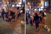 Đánh ghen tàn bạo giữa phố lớn Hà Nội