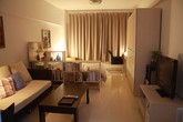Ngắm căn hộ nhỏ có cách bài trí siêu đơn giản