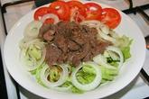 3 món rau chế biến với thịt bò ngon cơm