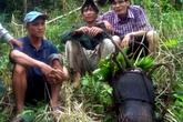 'Người rừng' Quảng Ngãi được đóng phim