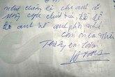 Những bức thư tình của người chồng khiến phụ nữ ước ao