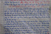 Bài văn cũ của cô bé xứ Nghệ lấy nước mắt người đọc