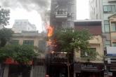 Cháy tiệm áo cưới Juliette ở Hà Nội