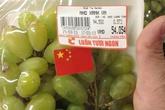 Nho Việt dán cờ Trung Quốc: Phạt Big C 35 triệu đồng