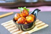 Ngon miệng trứng cút xốt cà chua