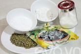 Chè đậu xanh trân châu thạch đen
