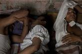 Chùm ảnh: Phận trai mát xa ở Ấn Độ