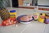 Thịt gà xào dứa thơm nức