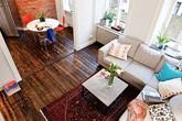 Căn hộ 33m² tiện nghi nhờ bài trí nội thất