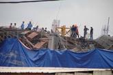 Sập công trình thương mại Lotte Mart Bình Dương