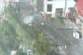 Những hình ảnh đầu tiên của cơn bão số 10