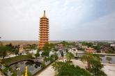 Khánh thành Bảo Tháp Đại Bi lớn nhất Nam Định