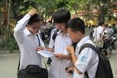 Tỷ lệ đỗ tốt nghiệp đồng loạt giảm