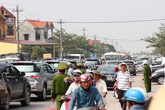 Lễ tang Tướng Giáp: Kỷ lục về người và phương tiện giao thông ở Quảng Bình