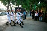 Đoàn xe tiêu binh TP HCM phục vụ tang lễ Đại tướng