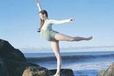 Mang bầu 39 tuần vẫn múa ballet hăng say