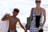 Siêu mẫu cứu con trai 7 tuổi khỏi chết đuối