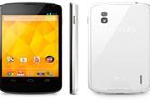 Hãng LG chính thức cho ra Nexus 4 màu trắng