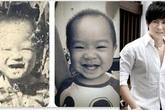 Lý Hải khoe hình con trai giống hệt ba mẹ lúc nhỏ