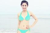 Bất ngờ với vóc dáng thon gọn của Lâm Chi Khanh khi mặc bikini
