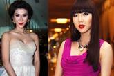 Mỹ nhân Việt khuôn mặt thiếu tự nhiên vì trang điểm đậm