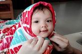 Vẻ đẹp lạ của các em bé con lai nhà sao Việt